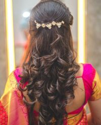 Hairstyles For Girls With Medium Hair For Indian Wedding ...