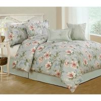 7pc Queen Bedding Set - Magnolia Branch | For the Home ...