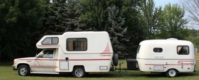 1987 Rare Scamp Mini Motorhome Fiberglass Camper not Toyota | Toyota, Minis and Campers