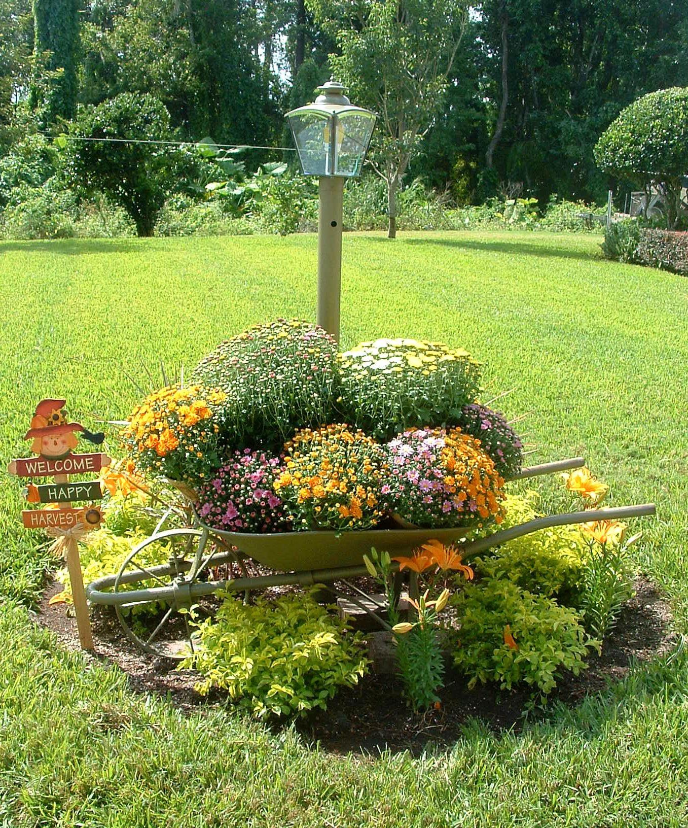 Fall yard decoration ideas