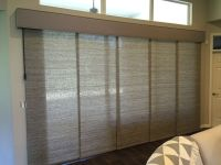 Custom Sliding Panels for patio doors. Operates with ...