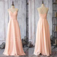 Chiffon Bridesmaid Dresses Blush Pink | www.pixshark.com ...