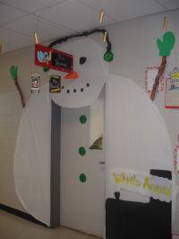 Winter Classroom Door Decorations | Crafty Chicks ...