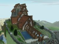 Main Town Building Idea - Minecraftpics.com | Minecraft ...