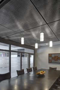 mesh ceiling panels - Google Search | Dealership Interior ...