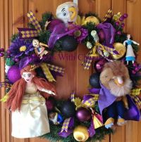 Beauty and the Beast wreath | Disney wreath | Pinterest ...