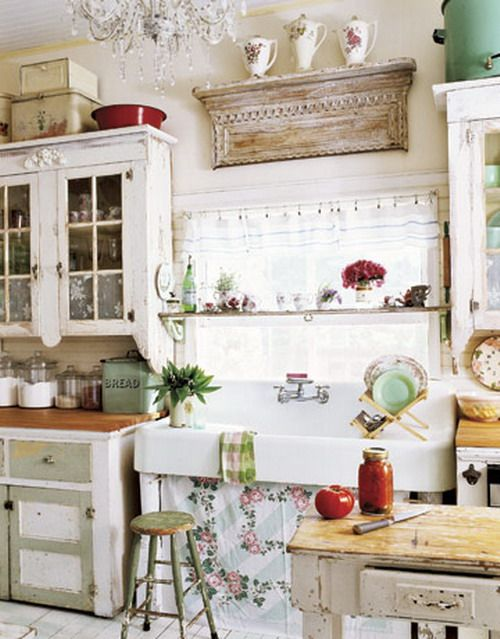 Modren Small Country Kitchen Decor Image For Wondrous Throughout Ideas - small country kitchen ideas