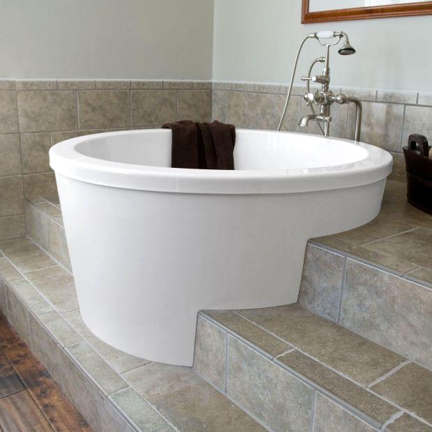 """47"""" caruso japanese soaking tub"""