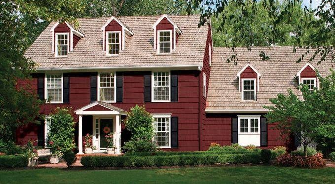 1000+ Images About House Colors On Pinterest | Paint Colors, Red