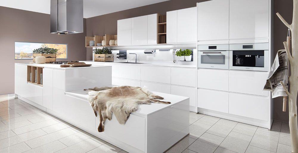 Schröder Küchen Küche Landhausstil Arte HG optiwhite Huis - moderne schroder kuchen