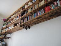 Industriln knihovna (Industrial pipe bookshelves ...