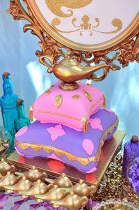 Genie Lamp cake from a Princess Jasmine Arabian Nights ...