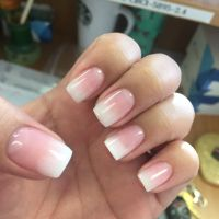 Powered fade French | Yelp | Nails*Hair*Makeup | Pinterest ...