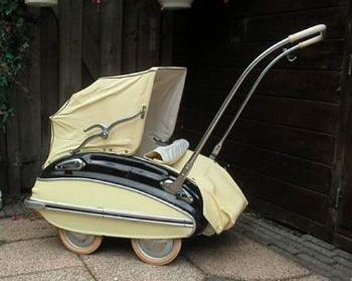Pram Come Pushchair Another Stroller From 1930s Best Jogging Strollers