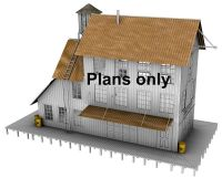 ho scale building plans free printable n scale buildings ...