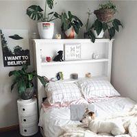 aesthetic, aesthetics, art, bedroom, plants, room, soft ...