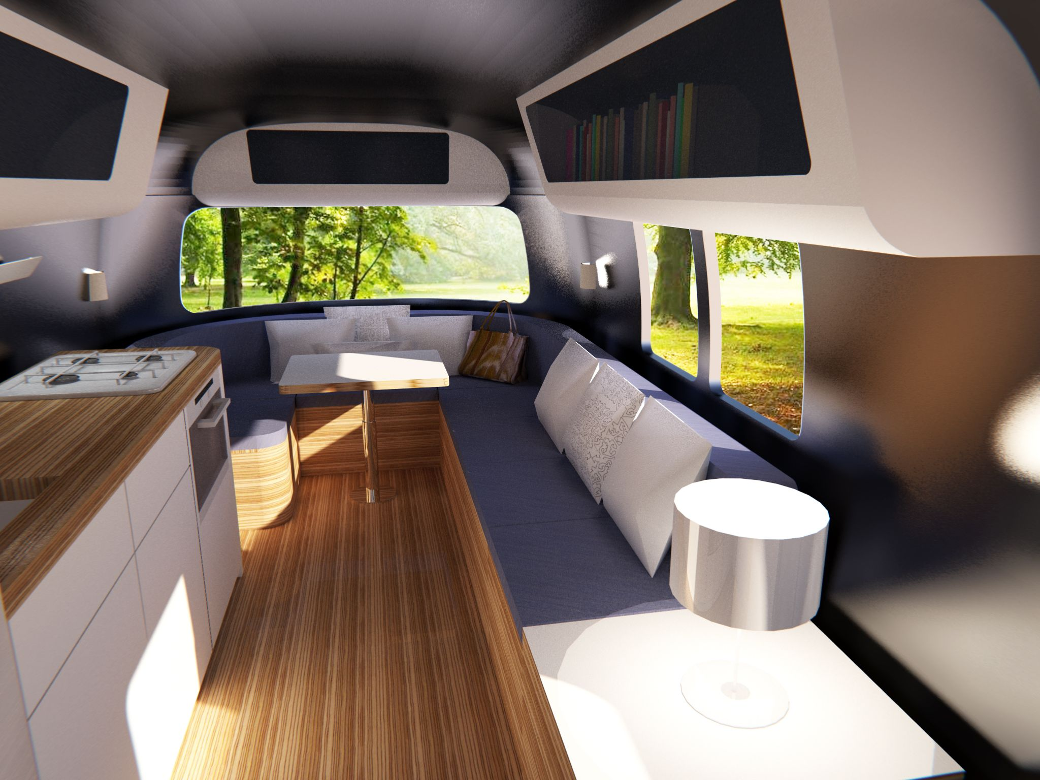 Caravane Decoration Interieur Caravan Modern Living Google Search Compact Living
