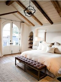 The Best Of Vaulted Ceilings | Master bedroom, Beams and ...