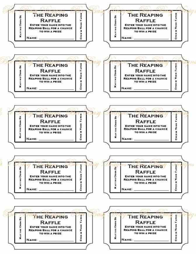 ... Free Printable Raffle Ticket Template Printable Numbered Raffle   Lunch Ticket  Template ...  Ball Ticket Template