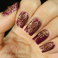 Traditional Indian Bridal Nail Art Designs For Wedding ...