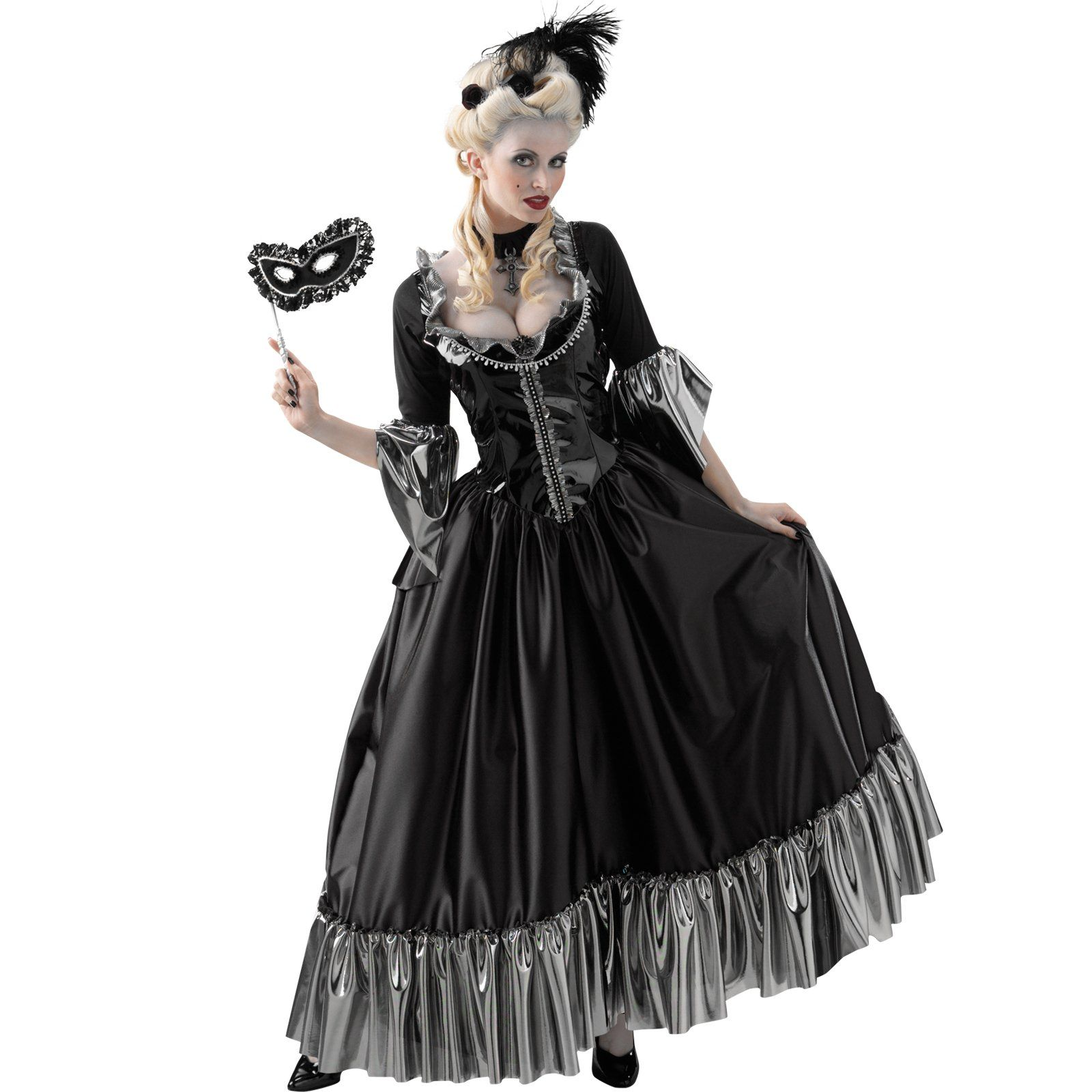 Masquerade ball queen adult costume from buycostumes com