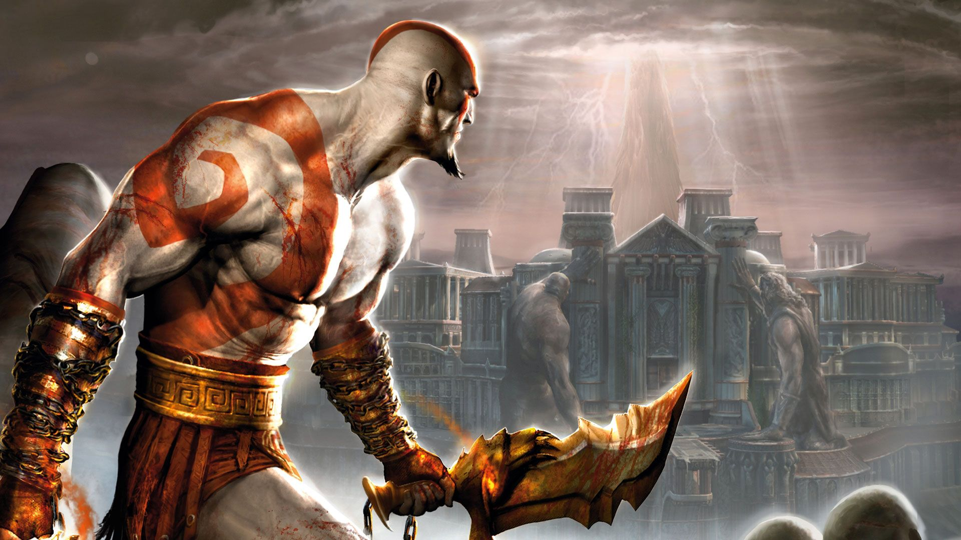 Free Download Animated Wallpapers For Windows 7 Ultimate God Of War Hd Game Wallpapers 1080p L Pinterest