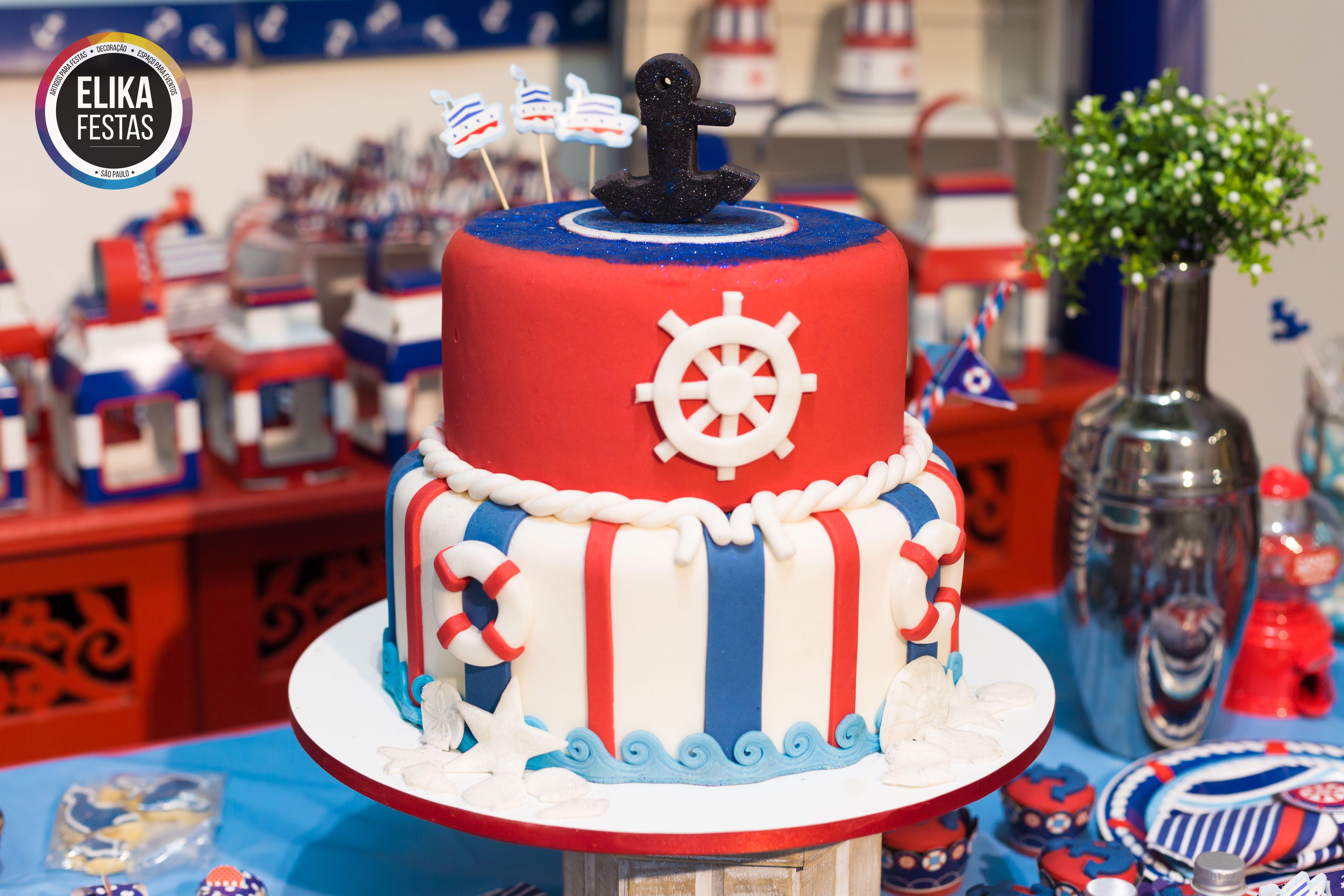 Detalhe decora o para festa no tema navy marinheiro linda op o para festa infantil