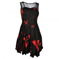 Vera Dress Black/Red | gothicly clothing | Pinterest ...