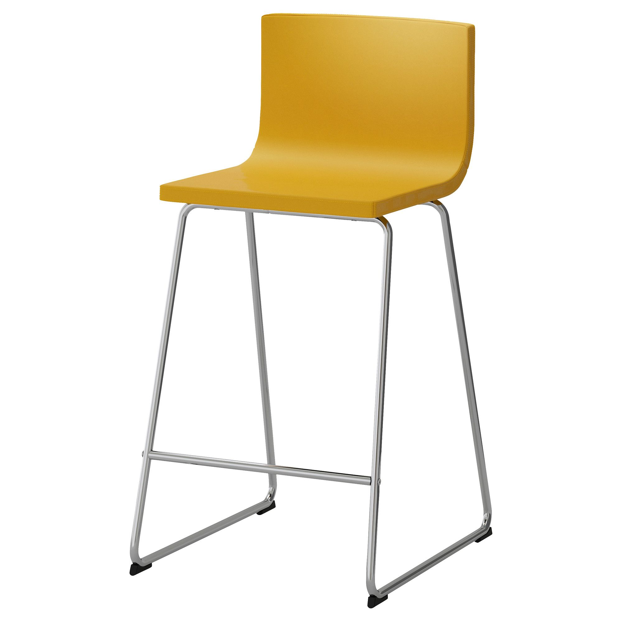 Ikea Tabouret De Comptoir Ikea Bernhard Bar Stool With Backrest You Sit