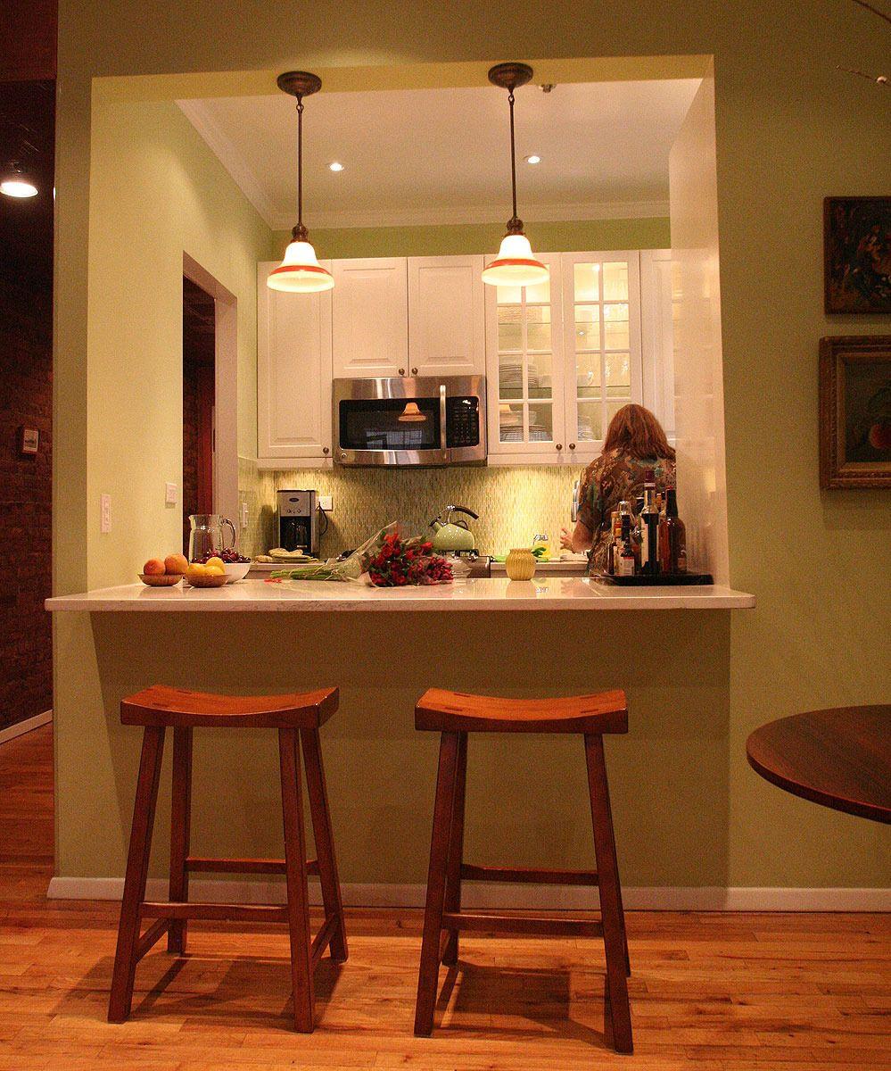 Kitchen ideas medium size framed kitchen with pass through countertop - Kitchen Ideas Medium Size Framed Kitchen With Pass Through Countertop After 2 Of 2 No Download