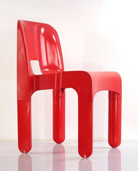 design by joe colombo, 1968 made in italy by kartell kartells ... - Asymmetrischer Stuhl Casamania