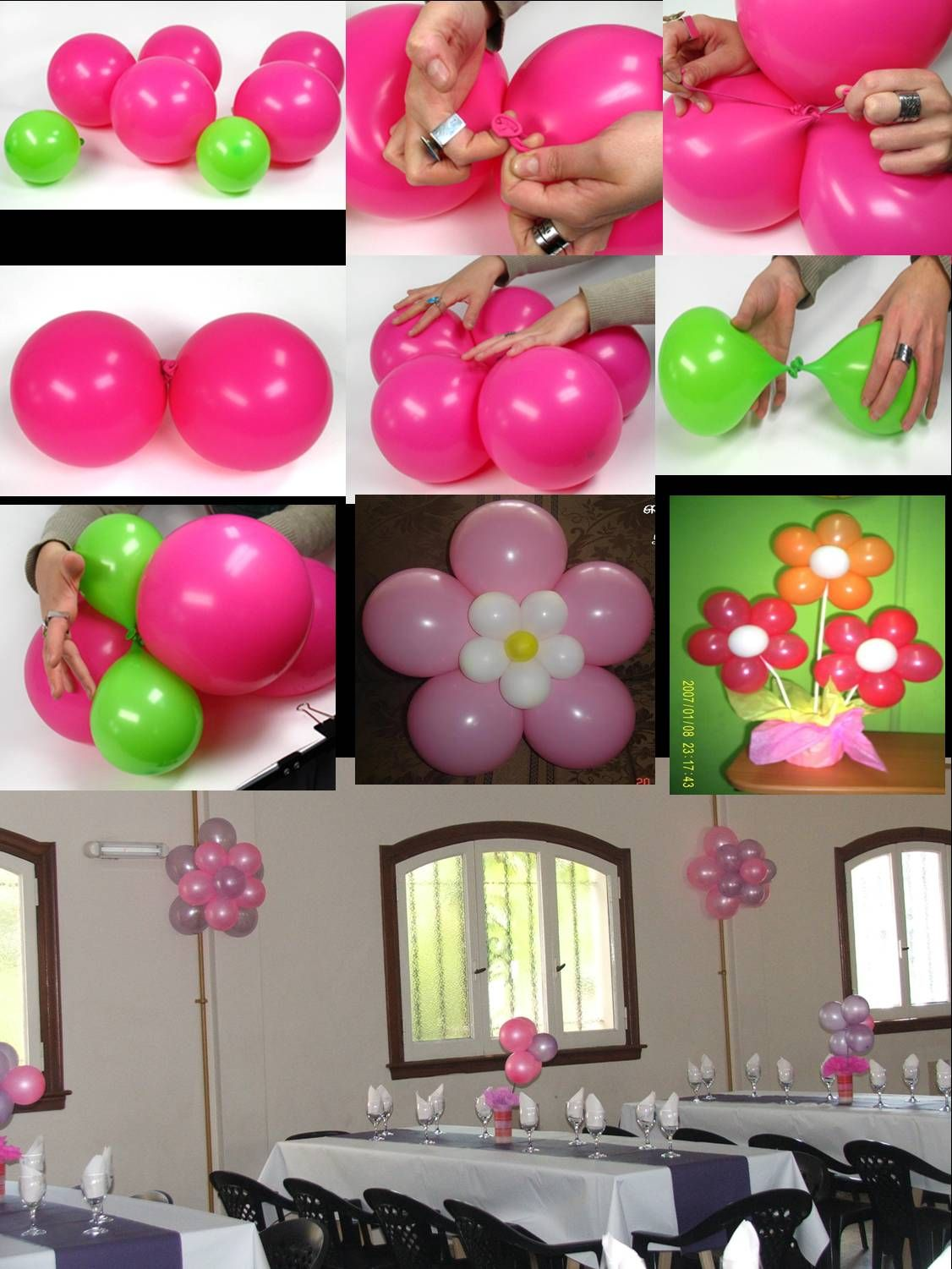 Decorar Un Salon Como Decorar Un Salon De Fiestas Con Flores De Globos