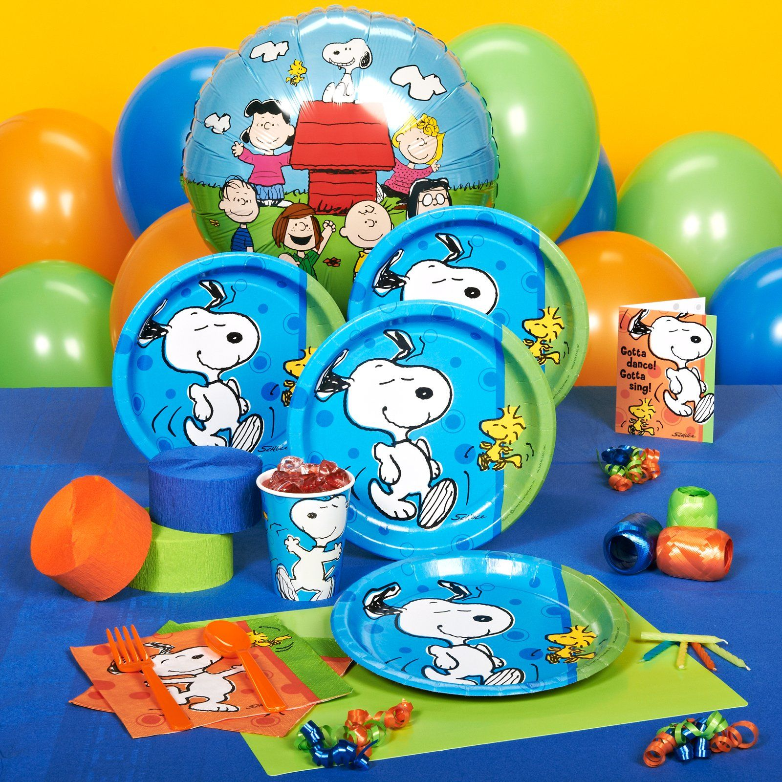 Birthday Supplies Snoopy Birthday Party Supplies Peanuts Snoopy Party
