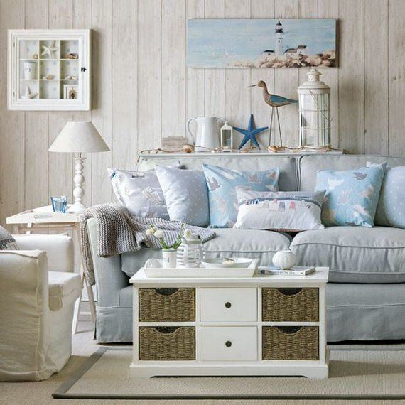 14 Great Beach Themed Living Room Ideas Beach themed living room - beach theme living room