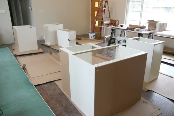 Installing Kitchen Cabinets Over Floating Flooring Base Cabinet Install 1. Typically, Upper Cabinetry Is Hung