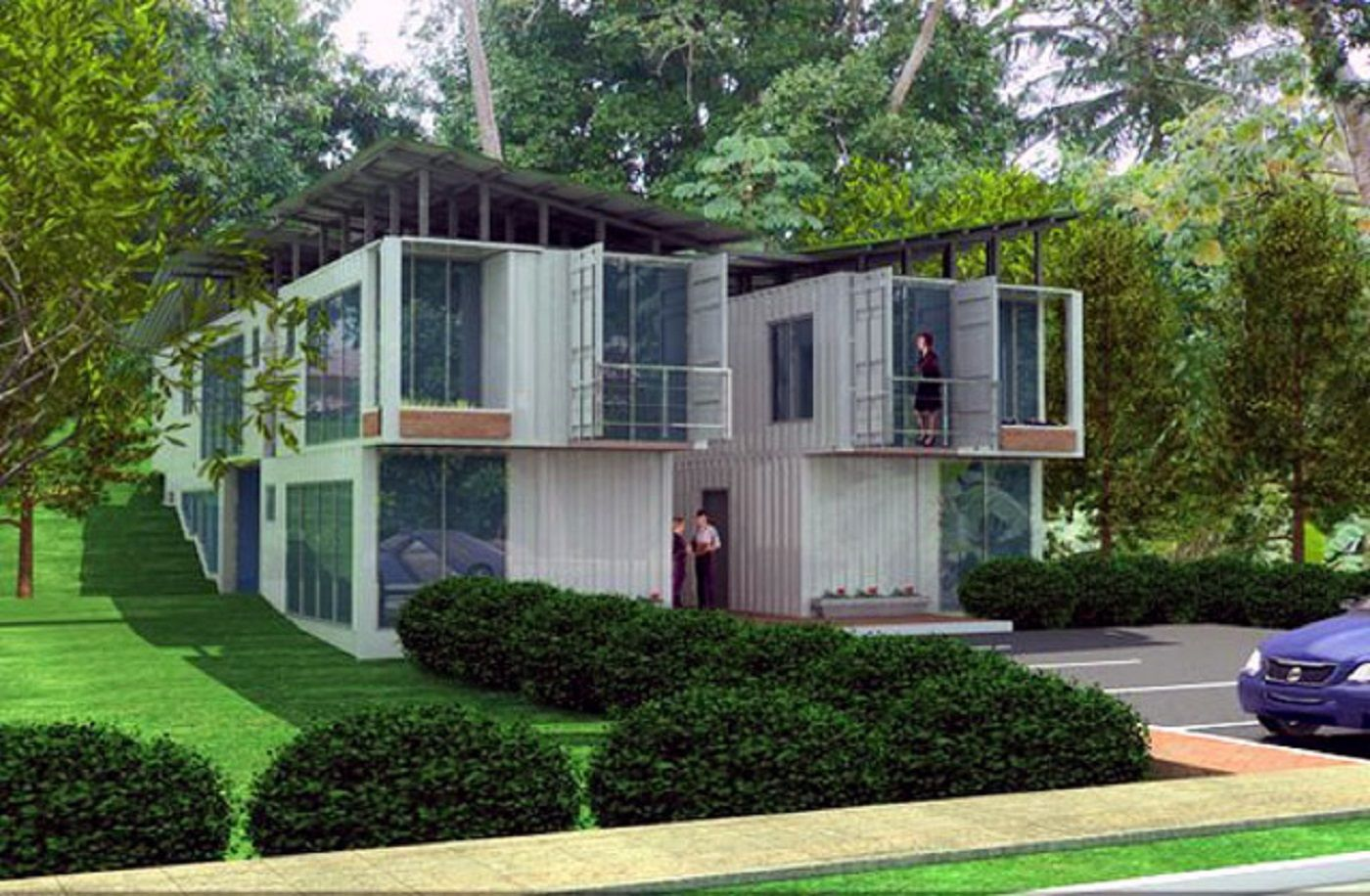 Modulhaus Ecospace Container Haus Innen