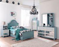 Ashley Mivara Tiffany Turquoise Blue Girls Kids French ...