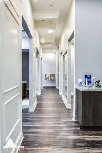 Paneled Hallways and Organic Light Fixtures. Dental Office ...