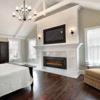 Large Electric Fireplace Insert | Fireplaces | Pinterest