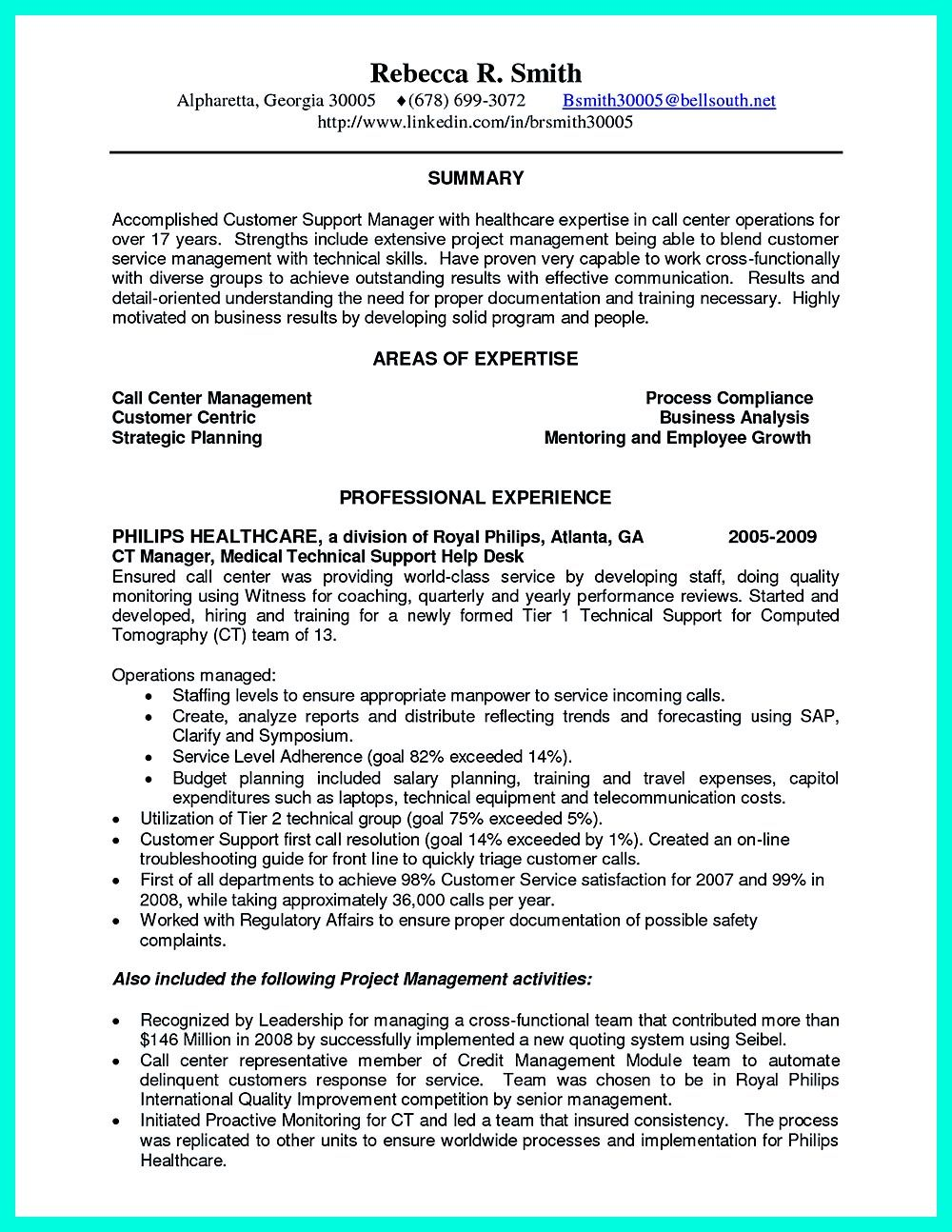 computed tomography resume examples