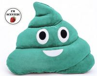Poop Emoji Scented Pillows, 6 Colors | Pillows and Swag