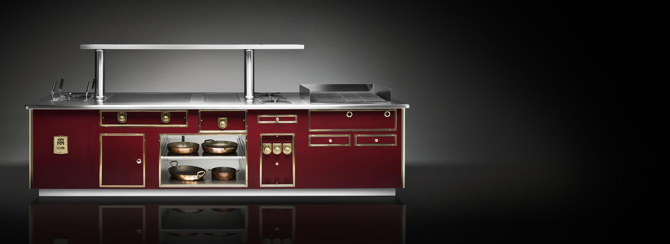 Cucina Professionale Molteni | All Steel Di Iittala X Cucinare Lista ...