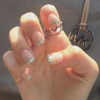 Crown art nails go perfectly with the Princess Crown Ring ...