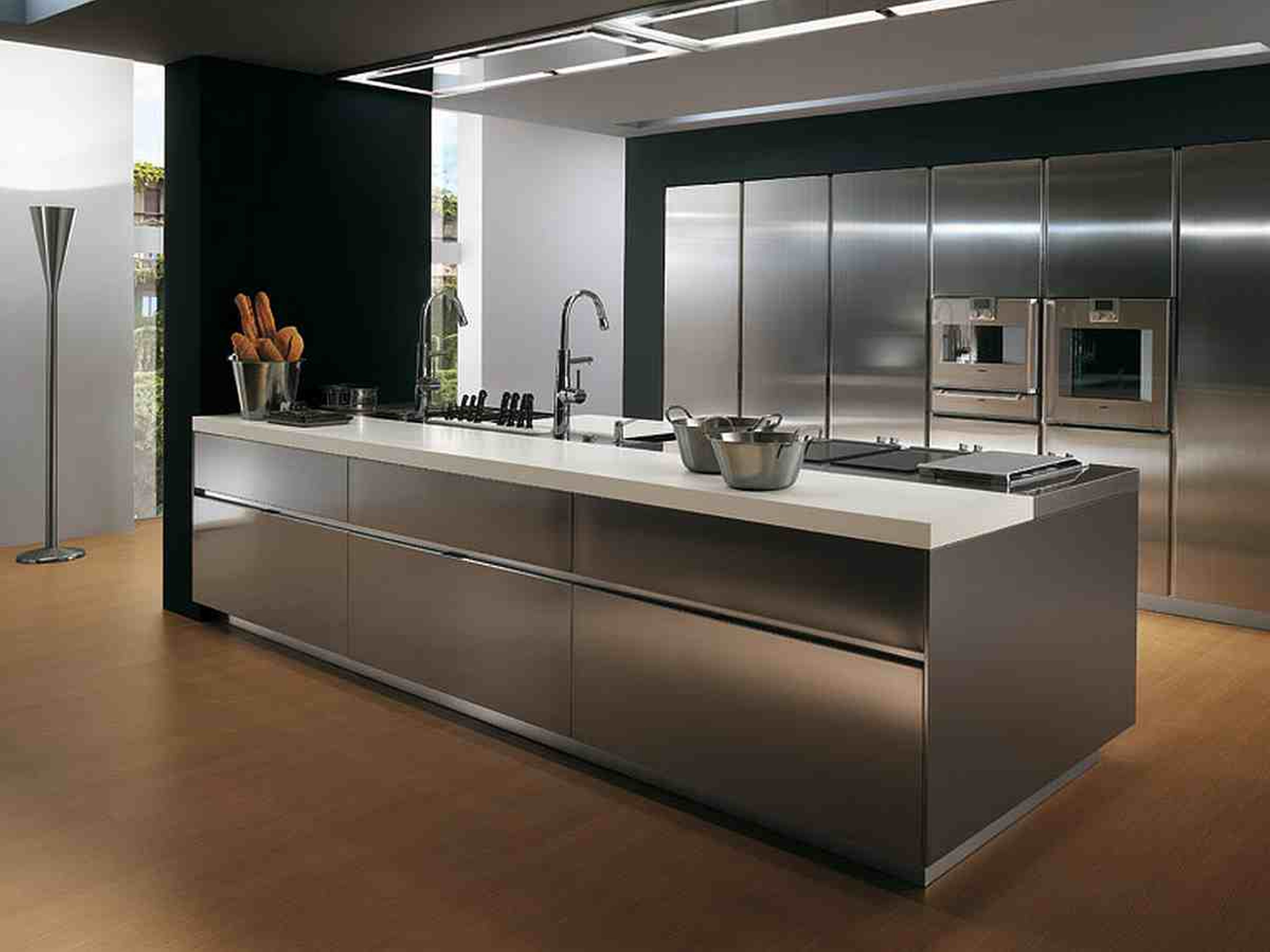 Stainless Steel Cabinets And Countertops Stainless Steel Countertops Ikea Home Decor