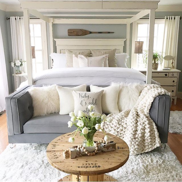 Well my bedroom can only fit a bed, but maybe next house might - bedroom couch ideas