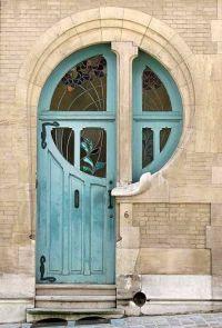Unique Front Doors on Pinterest | Door Pulls, Exterior ...