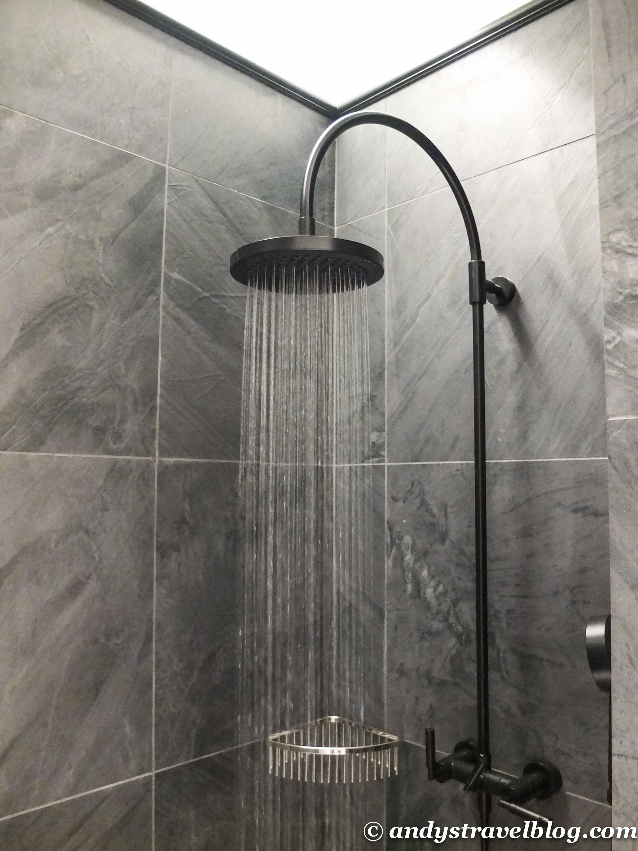 Waterfall Shower Ideas Spectacular Brushed Nickel Free Standing Head Waterfall