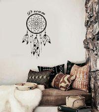 Wall Decal Dreamcatcher Dream Catcher Native American ...