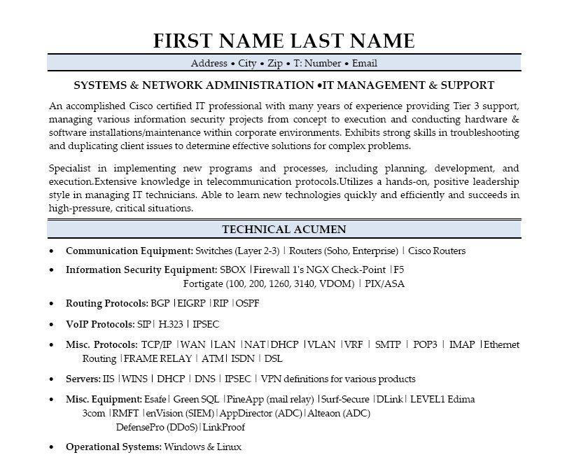 resume information 11 best best it manager resume templates