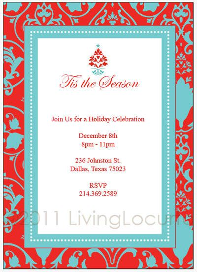 Invitation templates free word
